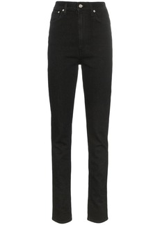 Helmut Lang high-waisted slim-fit jeans