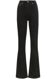 Helmut Lang Femme high-rise straight jeans