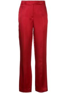 Helmut Lang high waisted straight leg trousers