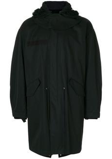 Helmut Lang hooded parka coat