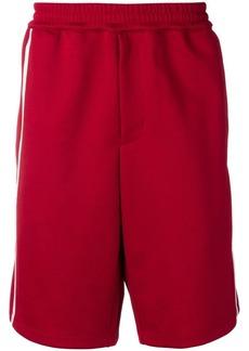 Helmut Lang jersey track shorts