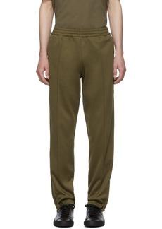 Helmut Lang Khaki Stripe Track Pants
