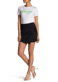 Helmut Lang Knit Drape Skirt