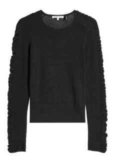 Helmut Lang Knit Top with Silk