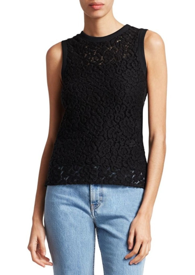 Helmut Lang Lace Shell Top