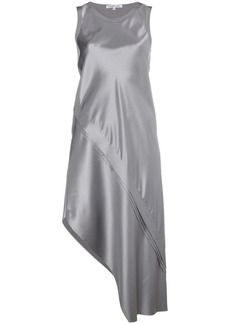 Helmut Lang Lacquered silk dress