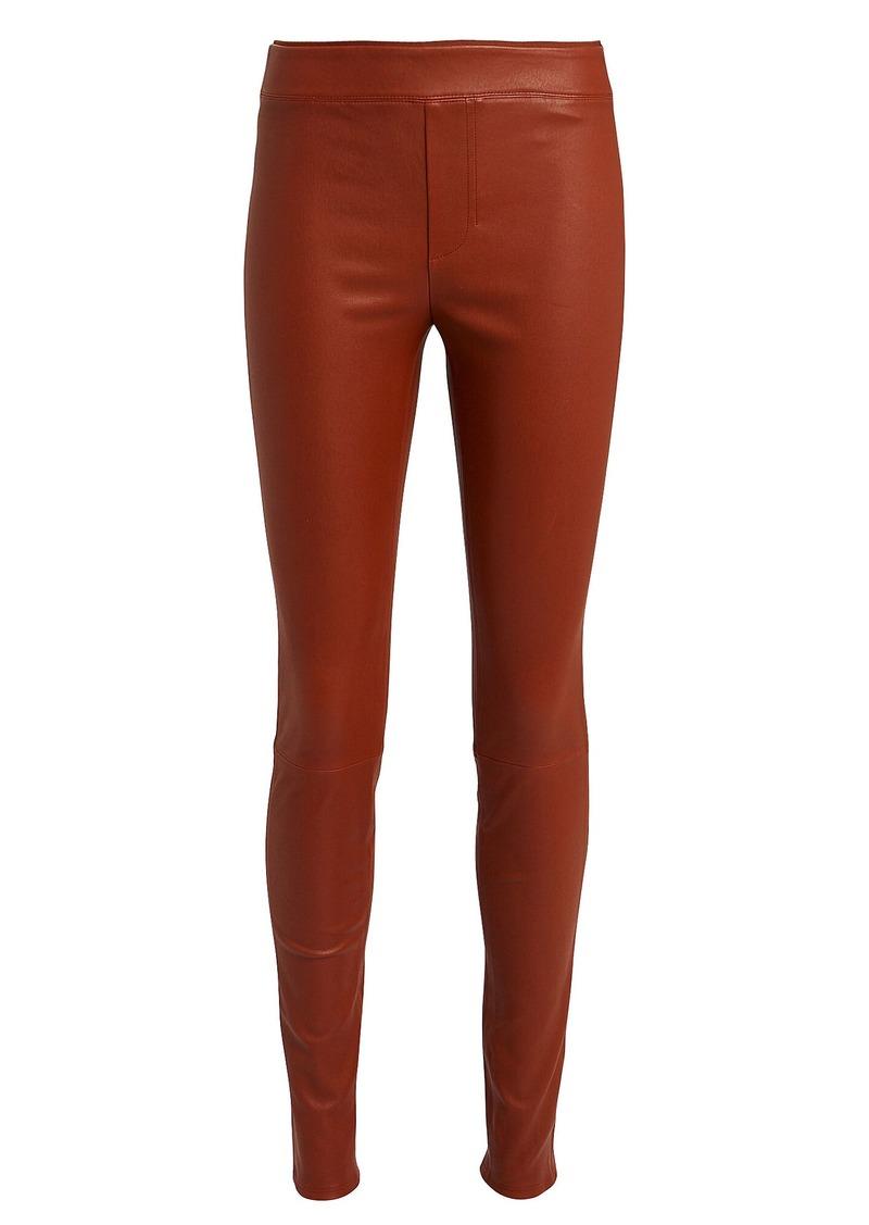 Helmut Lang Lambskin Leather Leggings