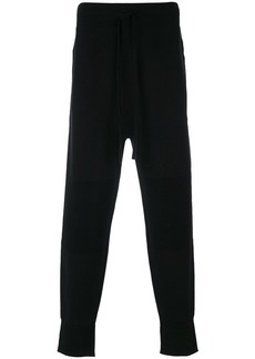 Helmut Lang lateral zip sweatpants