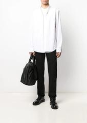 Helmut Lang layered hem shirt