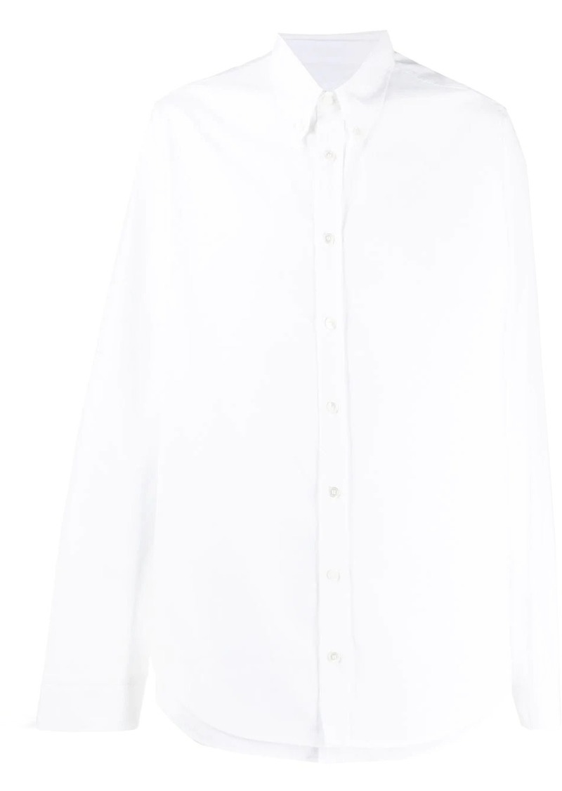 Helmut Lang layered hem shirt