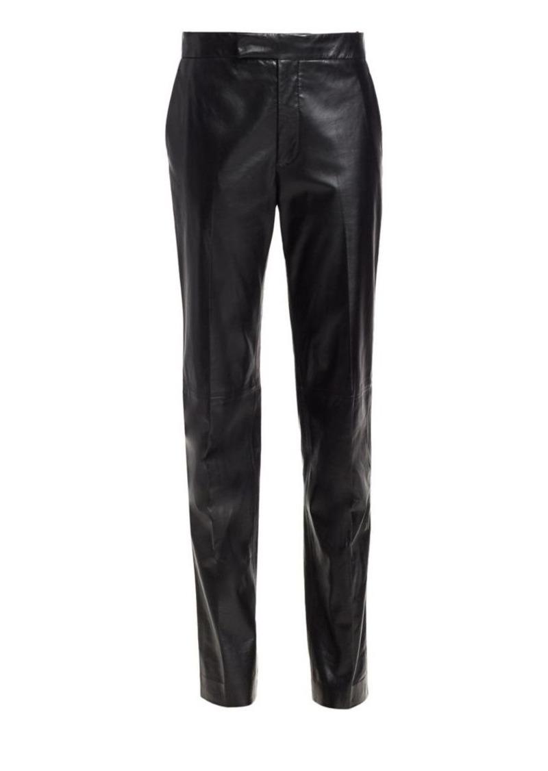 Helmut Lang Leather Suit Pants