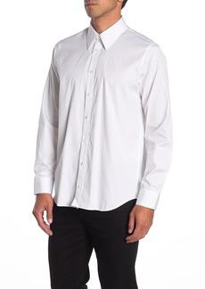 Helmut Lang Logo Back Long Sleeve Woven Shirt