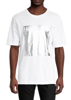Helmut Lang Logo Cotton-Blend Tee