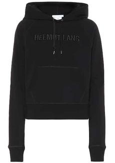 Helmut Lang Logo cotton hoodie