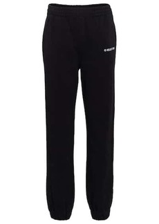 Helmut Lang Logo cotton jersey sweatpants