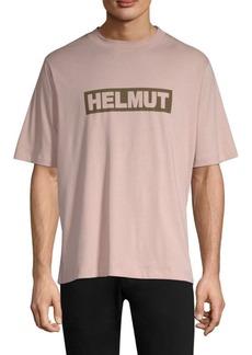 Helmut Lang Logo Cotton Tall Tee
