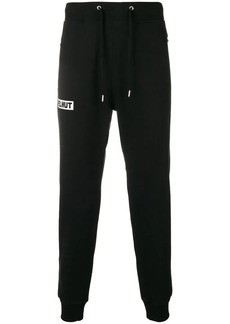 Helmut Lang logo drawstring track trousers