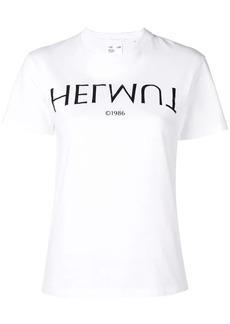 Helmut Lang Logo Hack Little tee