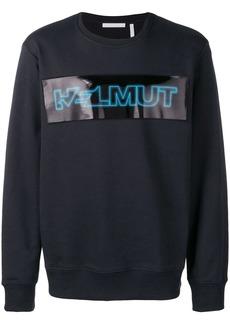 Helmut Lang logo print sweatshirt