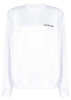 Helmut Lang logo printed sweatshirt