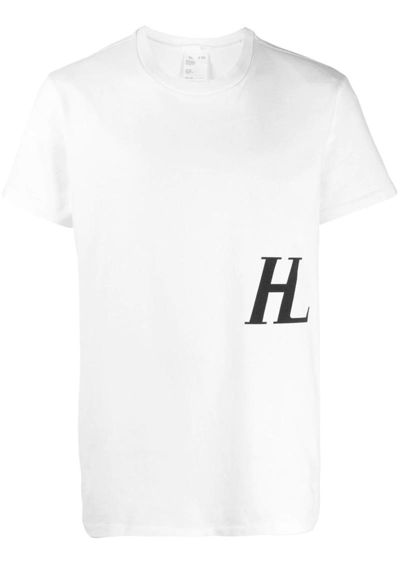 Helmut Lang logo printed T-shirt