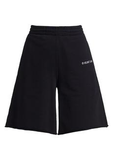 Helmut Lang Logo Sweat Shorts