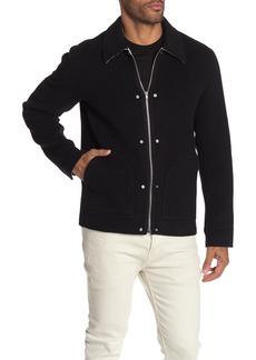 Helmut Lang Logo Zip Blouson Jacket