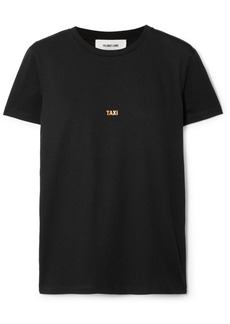 Helmut Lang London Taxi Printed Cotton-jersey T-shirt