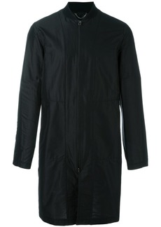 Helmut Lang long bomber style coat