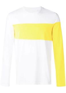 Helmut Lang long coloured arms T-shirt