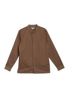 Helmut Lang Long Sleeve Bomber Shirt