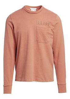 Helmut Lang Long-Sleeve Pocket T-Shirt