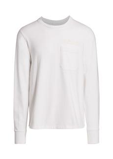 Helmut Lang Long-Sleeve Standard Pocket T-Shirt