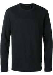 Helmut Lang long-sleeved logo T-shirt