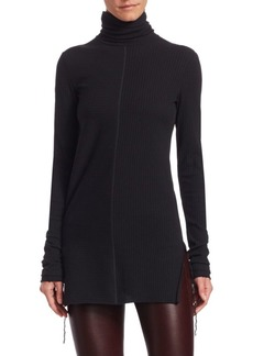Helmut Lang Longline Turtleneck Top