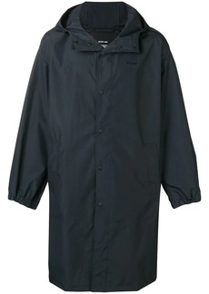 Helmut Lang loose fit raincoat