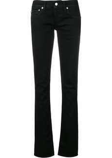Helmut Lang low-rise slim-fit jeans