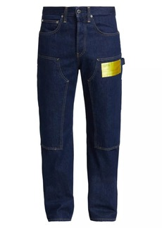 Helmut Lang Masc Neon Label Utility Jeans