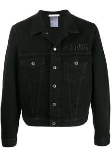 Helmut Lang Masc Trucker logo denim jacket