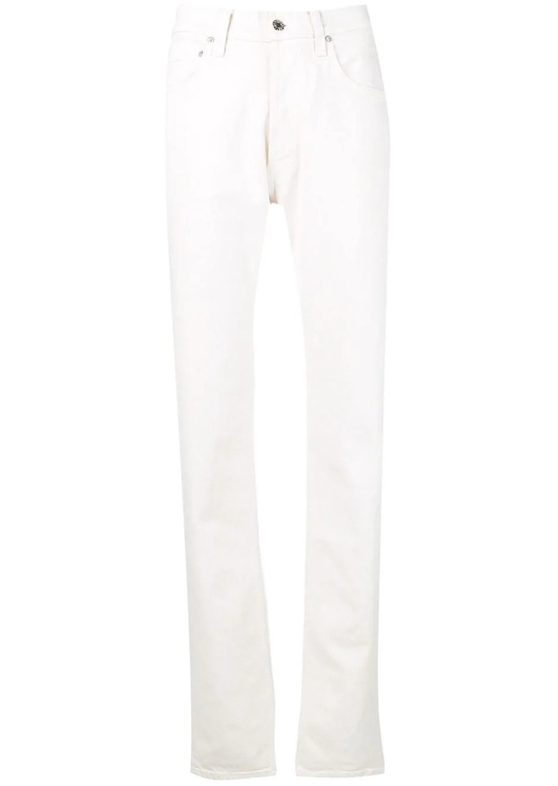 Helmut Lang masculine straight leg jeans
