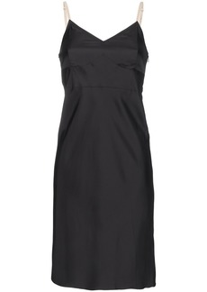 Helmut Lang Matte slip dress