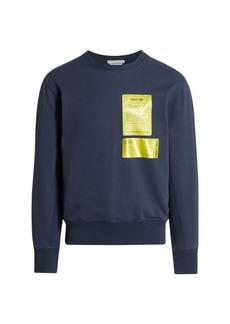 Helmut Lang Mechanical Patch Sweatshirt