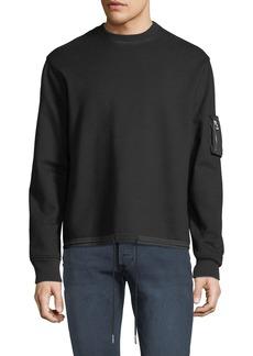 Helmut Lang Men's Fishtail Crewneck Sweatshirt