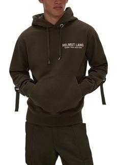 Men's Helmut Lang Sleeve Strap Hoodie