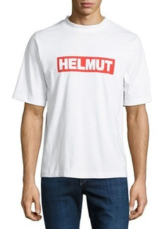 Helmut Lang Men's Logo Graphic Tall T-Shirt
