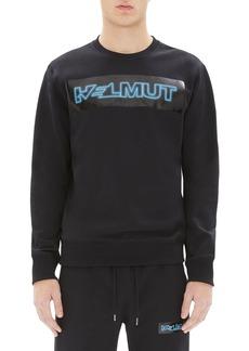 Helmut Lang Men's Pigeon Logo-Graphic Sweatshirt