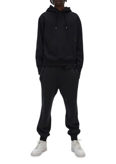 Helmut Lang Men's Solid Pullover Hoodie with Straps