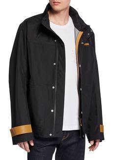 Helmut Lang Men's Tech Sport Nylon Zip-Front Jacket