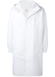 Helmut Lang mid-length trench coat