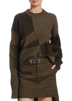 Helmut Lang Military Grunge Sweater
